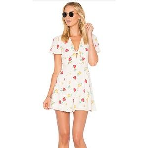 Privacy Pleas Dixie Strawberry Mini Dress
